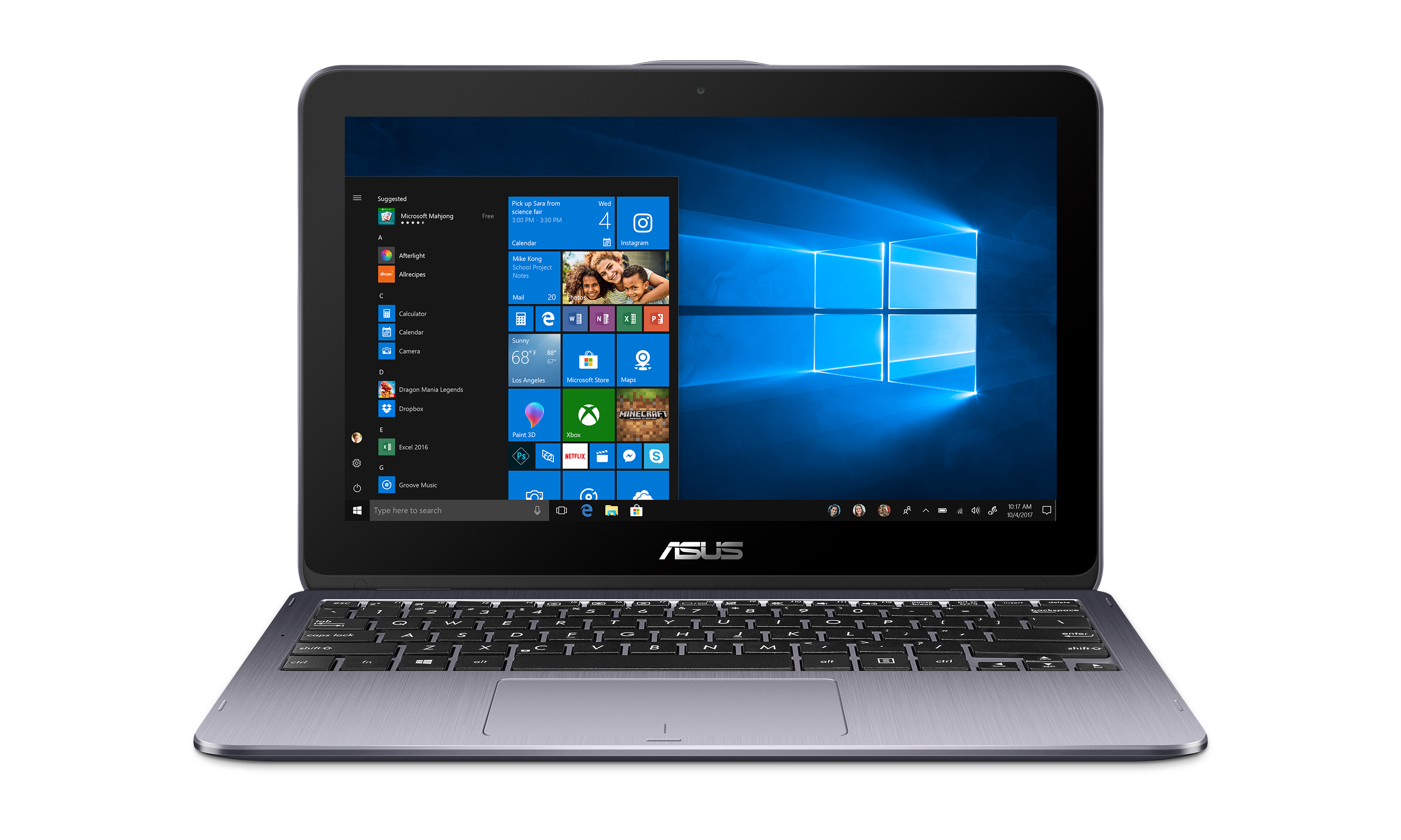 ASUS VivoBook Flip 12 TP203NA-UH01T 2 in 1 PC