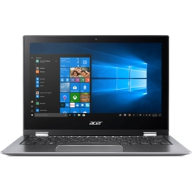 Open Acer Laptop, front view