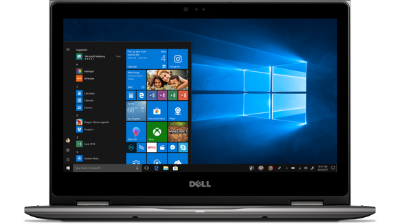 "Dell Inspiron 13 i5379-7302GRY-PUS 2 in 1 13.3"" FHD Touchscreen Laptop with Intel Quad Core i7-8550U / 8GB / 256GB SSD / Win 10 (Gray)"