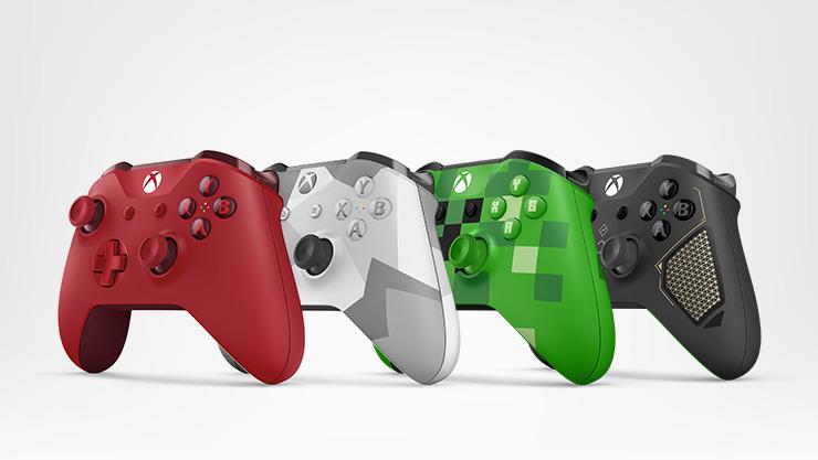 4 mandos Xbox.