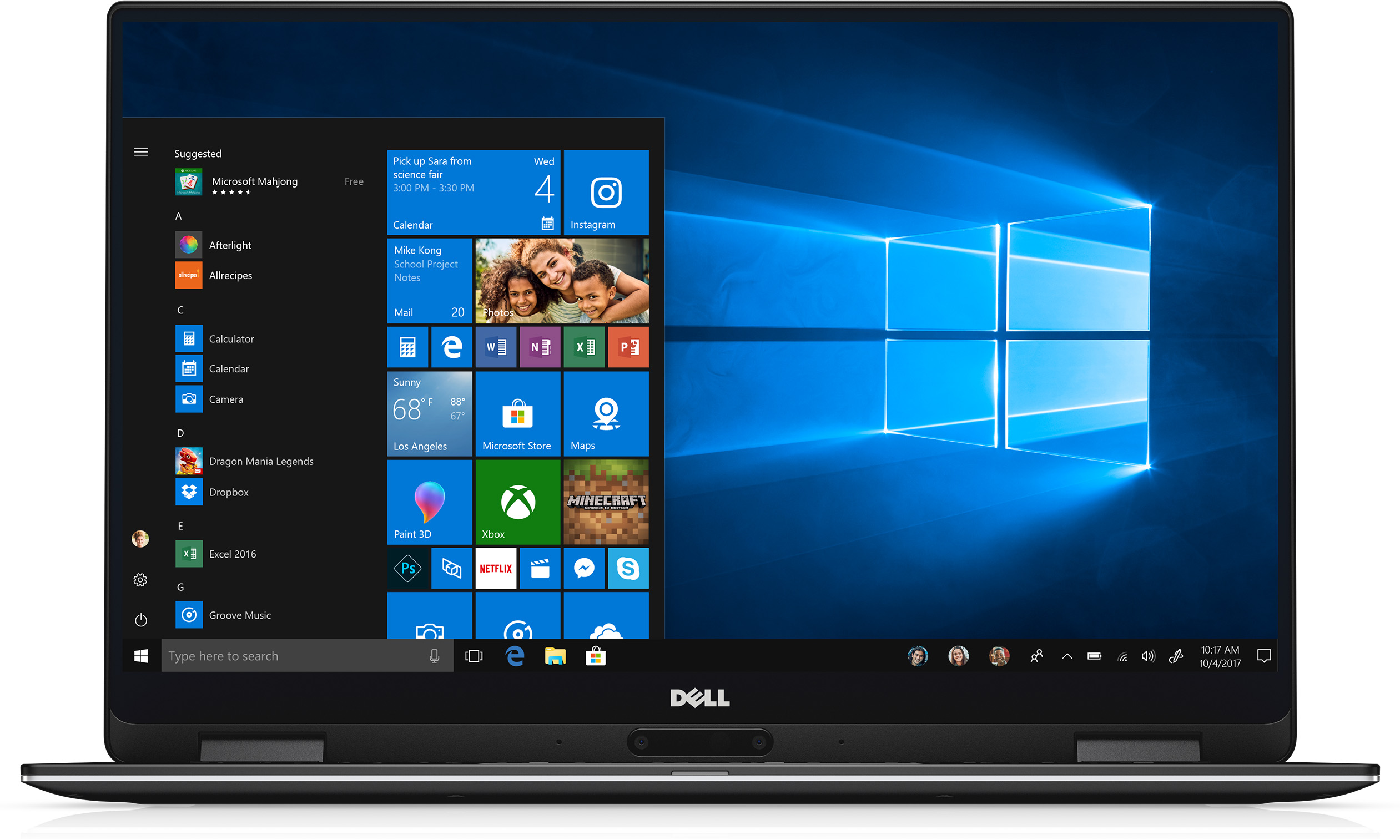 Dell XPS 13 9365 XPS9365-7494BLK-PUS 2 in 1 PC• 13.3-inch QHD+ touchscreen • Intel i7 7th Gen • 16GB memory/512GB SSD • Up to 15 hours battery life