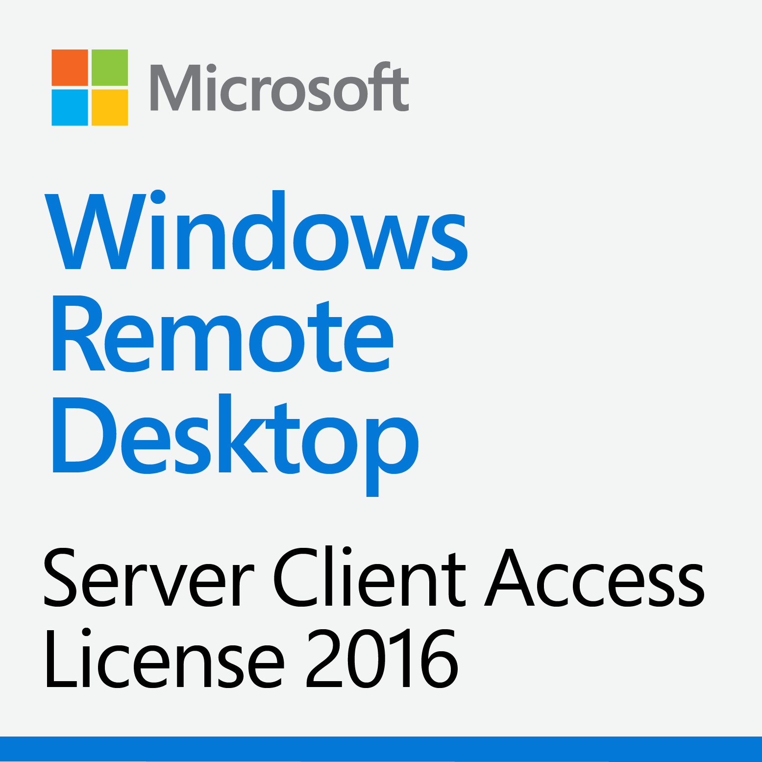 Windows Server 2016 Remote Desktop Services 1-User CAL