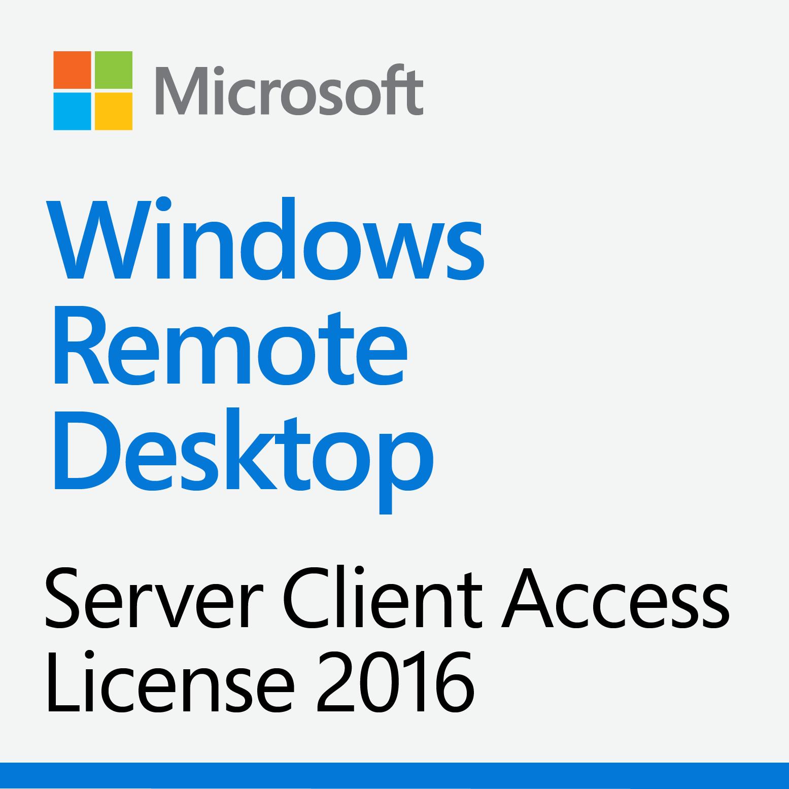 Windows Server 2016 Remote Desktop Services 5-Device CAL