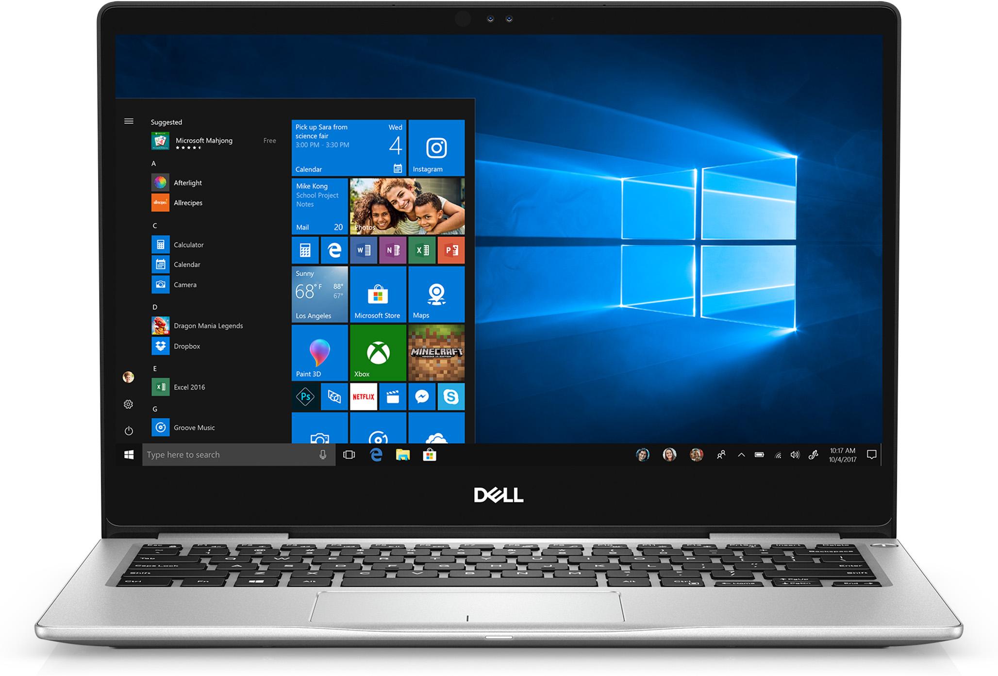 Dell Inspiron 13 i7370-5593SLV-PUS Laptop• 13.3-inch Full HD touchscreen • Intel i5 8th Gen • 8GB memory/256GB SSD