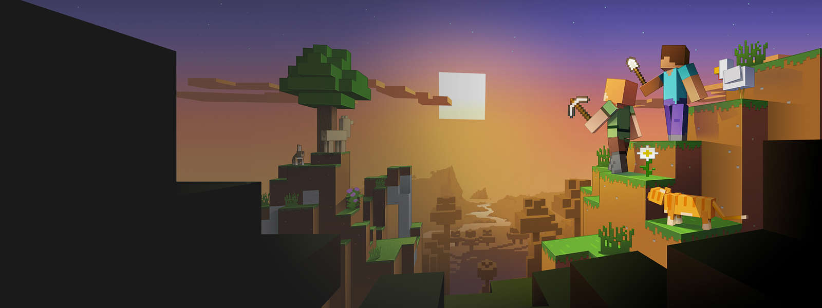 Building 92 microsoft store - Characters In A Minecraft Landscape