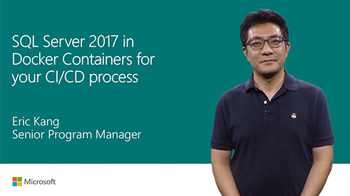 Image thumbnail for Use SQL Server 2017 in Docker containers for your CI/CD process video