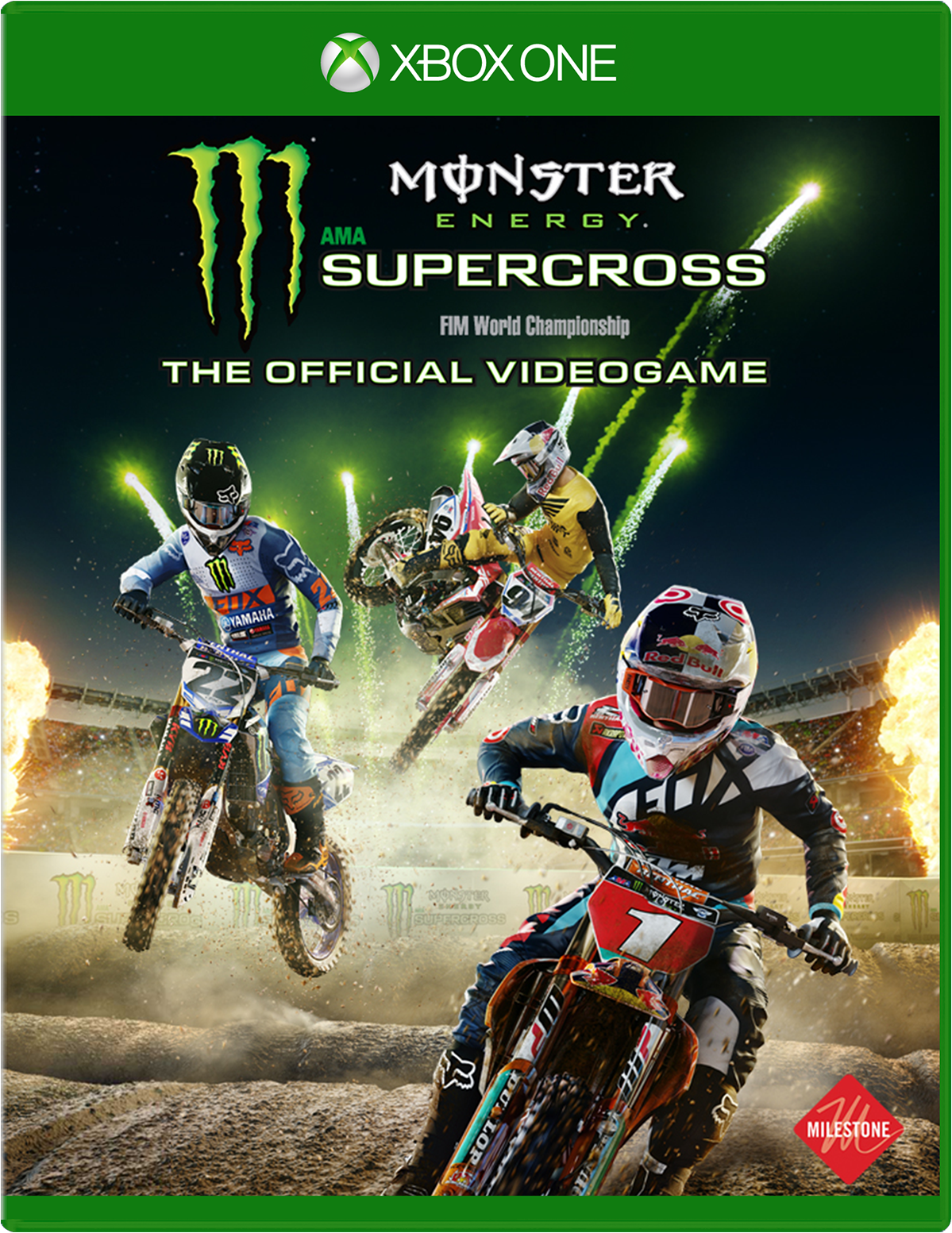 Monster Energy Supercross The Official Videogame For Xbox One
