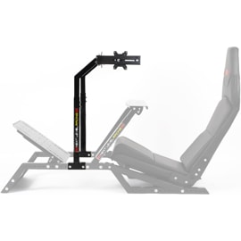 Racing monitor stand side view