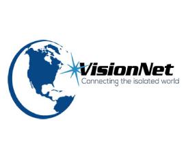 VisionNet's logo