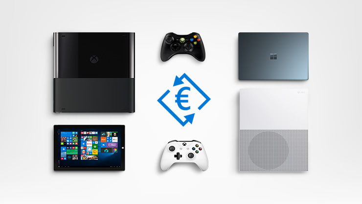 Xbox One et Surface.