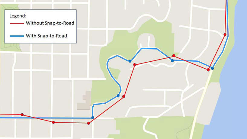 Snap to Road API | Bing Maps for Enterprise