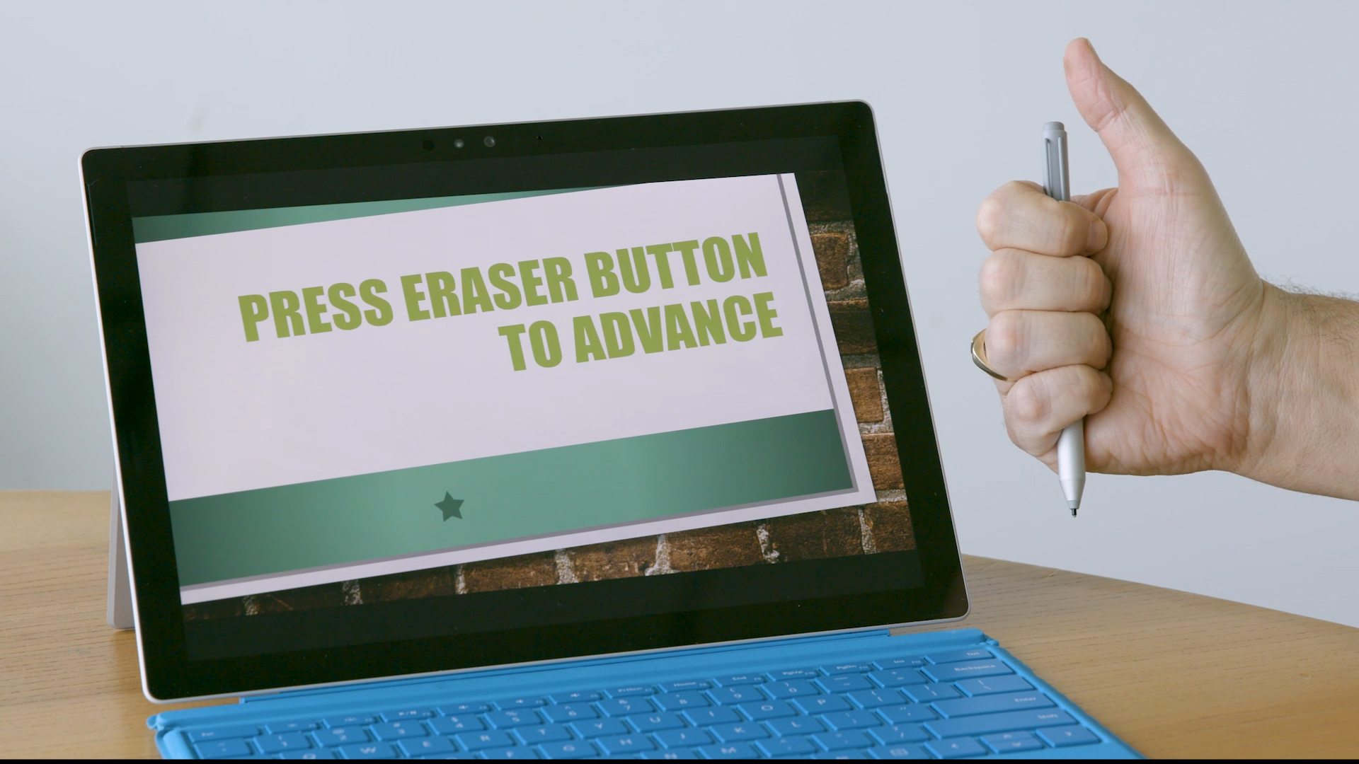 Use Your Digital Pen As A Slide Show Clicker Powerpoint