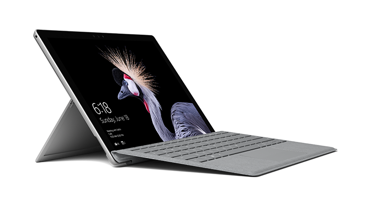 Surface Pro 5, Platinum Type cover