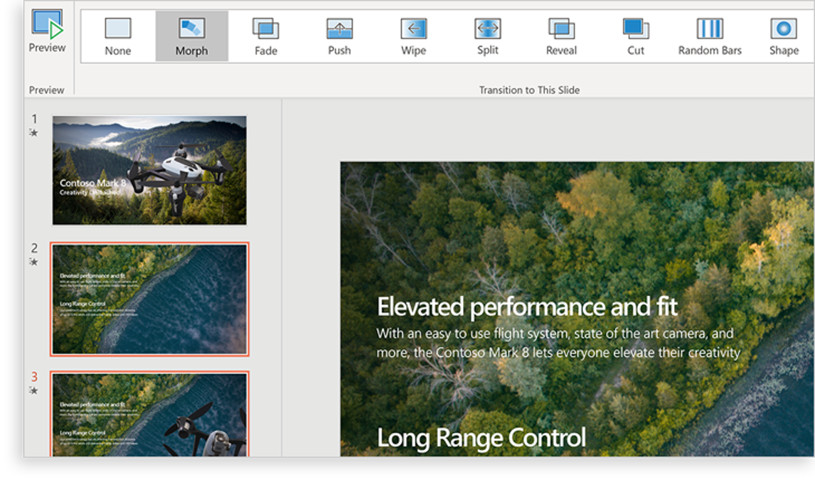 Slide Presentation Software, PPT - Microsoft PowerPoint
