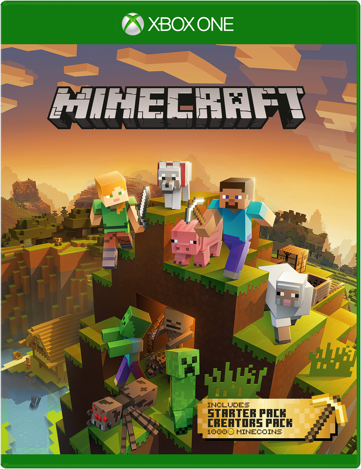 Minecraft Master Collection Spiel für Xbox One