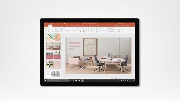 Surface Pro Displaying PowerPoint