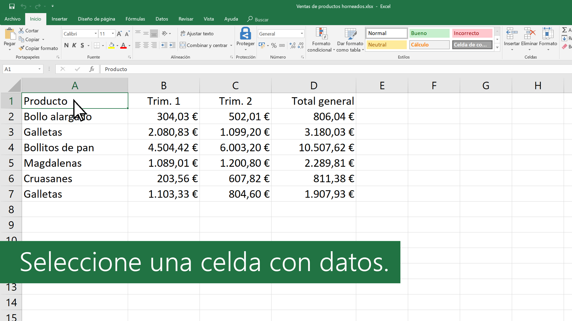 Crear Tablas Y Aplicarles Formato Soporte De Office