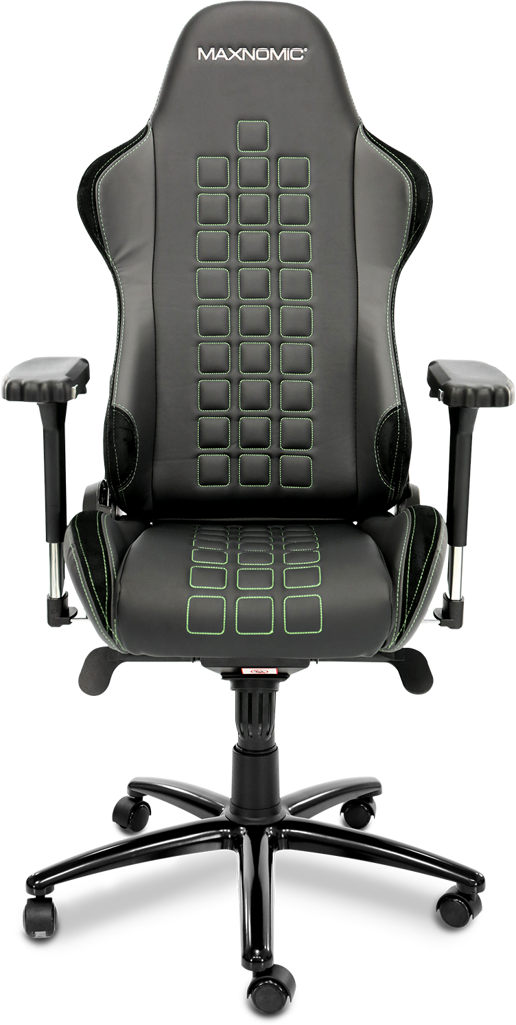 Frontal view of the MAXNOMIC QUADCEPTOR Chair