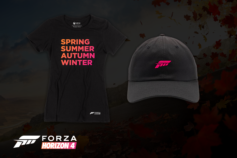Shop the Forza Horizon 4 Official Merch Collection