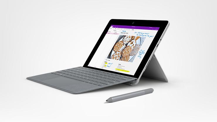 Surface Surface Go, capa teclado e caneta para Surface