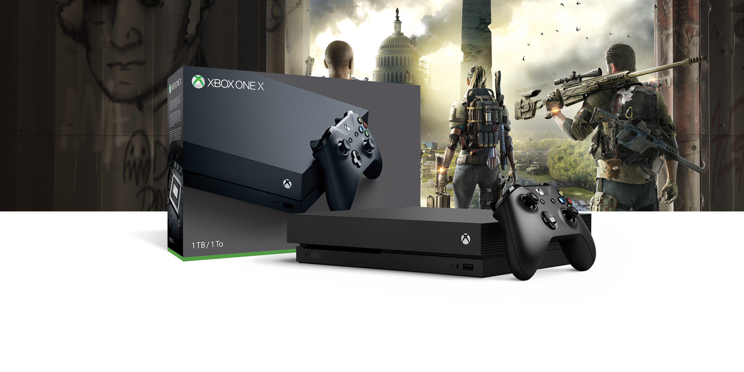 Xbox One X Tom Clancy's The Division 2 Bundle