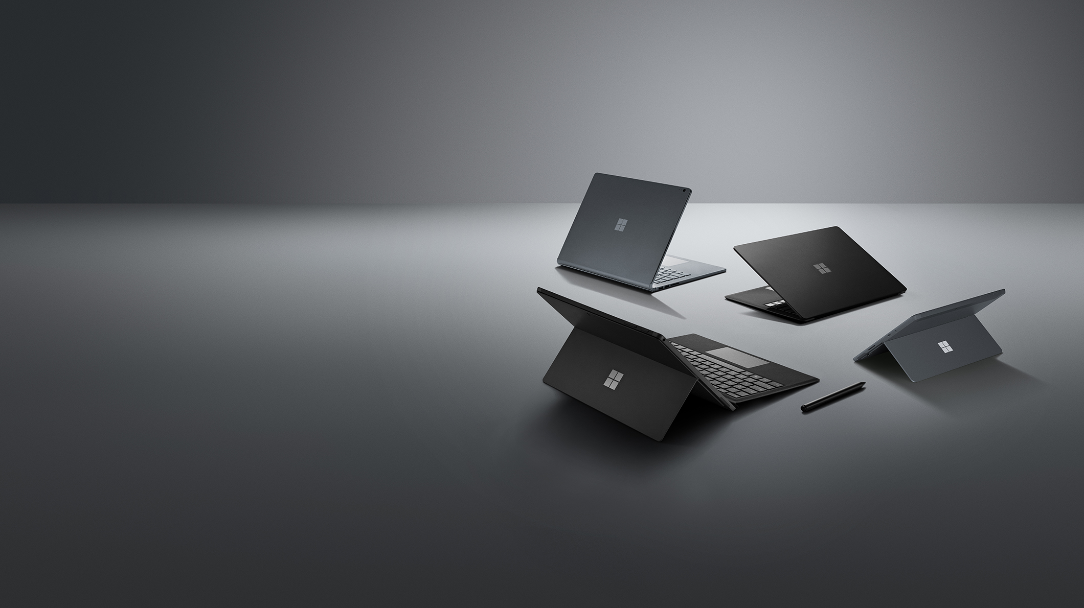 Surface Laptop 2, Surface Pro 6, Surface Book 2, Surface Go