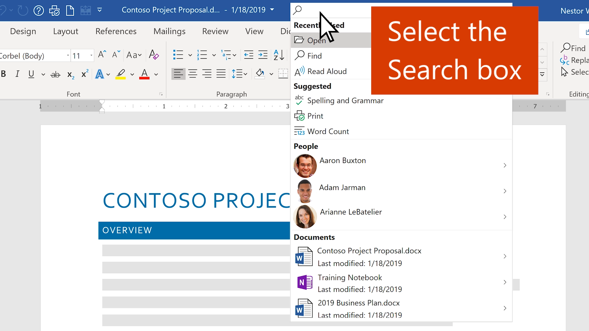 Video: Find anything with Microsoft Search