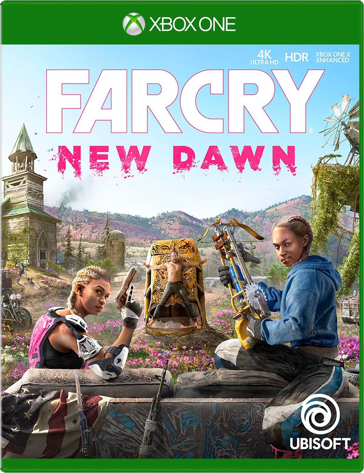 Cover of Far Cry New Dawn for Xbox One