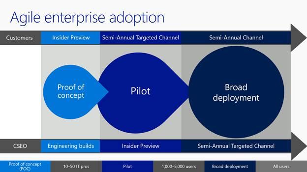 Agile adoption processes,