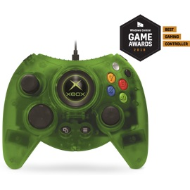 Hyperkin Duke wired controller for Xbox One and Windows 10 (Green).