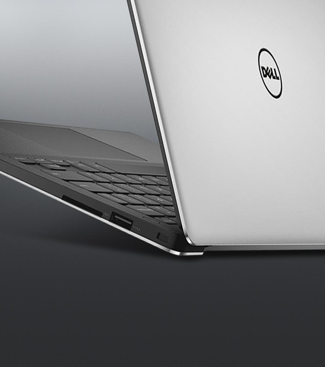 Image partielle d'un ordinateur Dell XPS 15