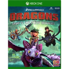 Cover of Dragons: Dawn Of New Riders for Xbox One