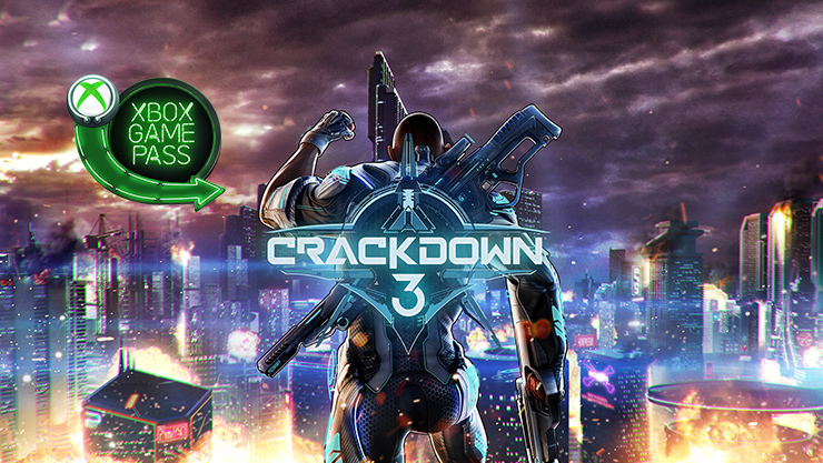 Crackdown 3 with Xbox Game Pass