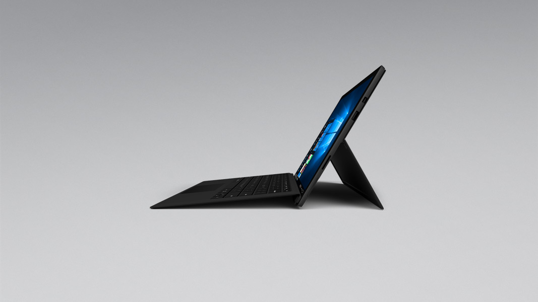 A side angle of the Surface Pro 6