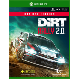 Dirt Rally 2.0 for Xbox One game box
