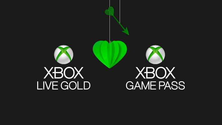 Xbox Live Gold en Xbox Game Pass