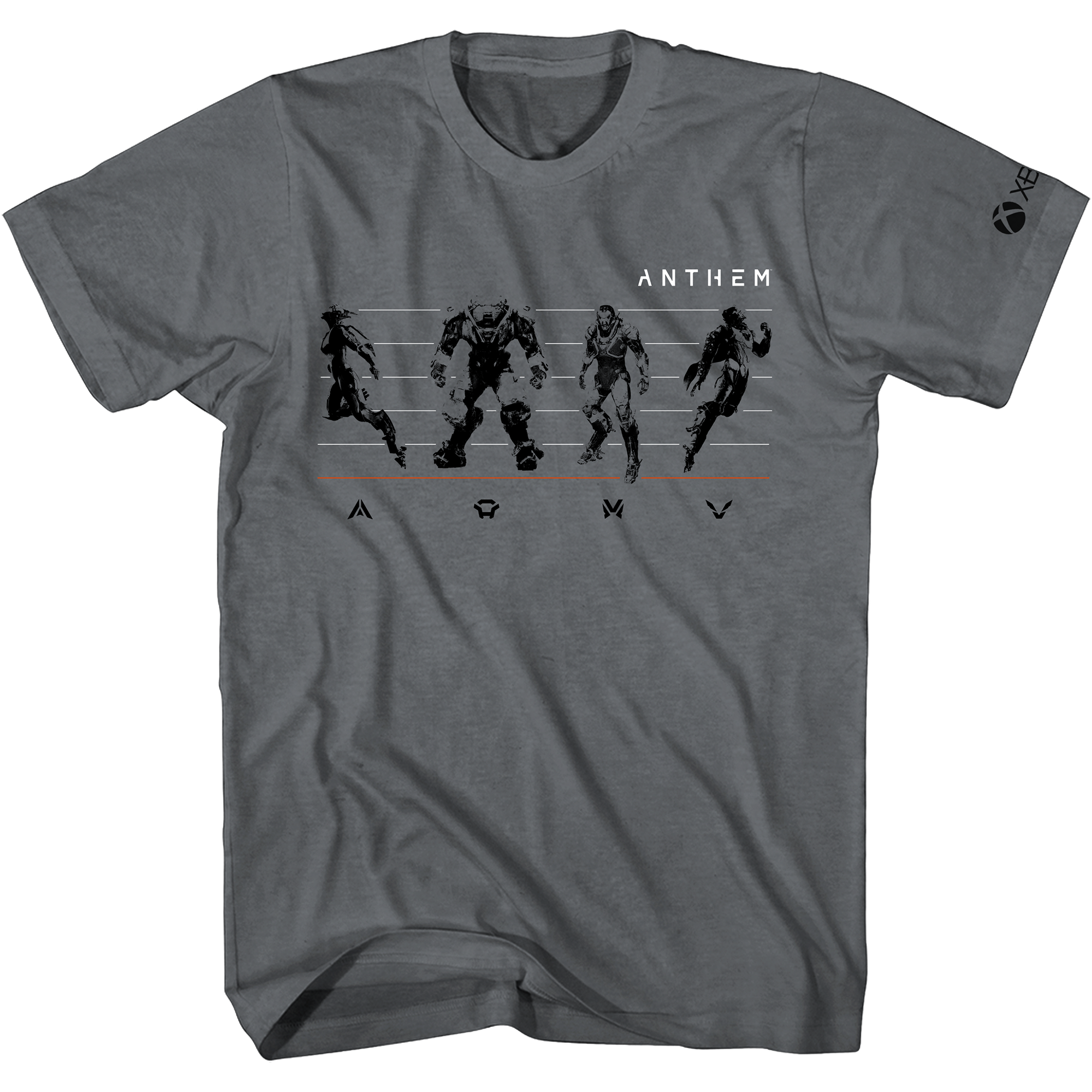 Xbox Anthem Lineup Tee Front