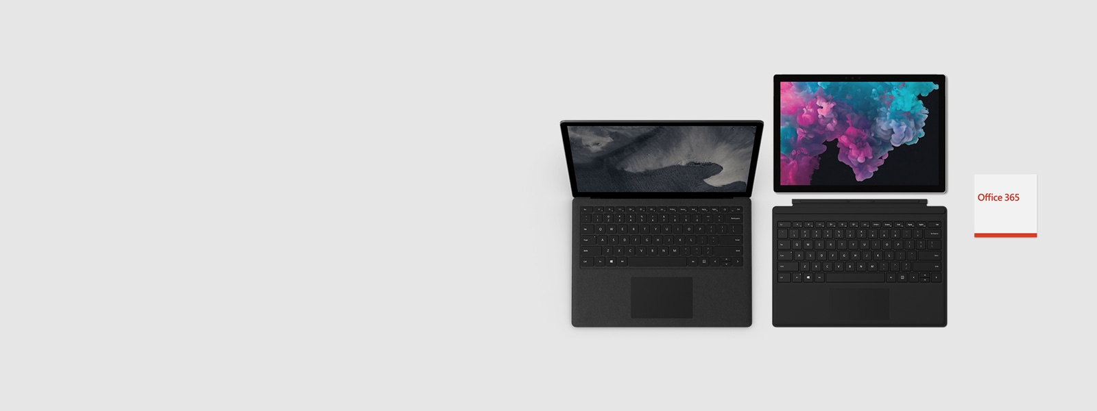 Surface Laptop 2 and Surface Pro 6 + Office 365
