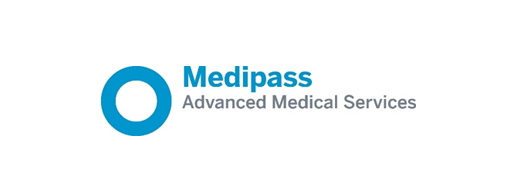 Medipass logo, read how Medipass uses Microsoft Project Online