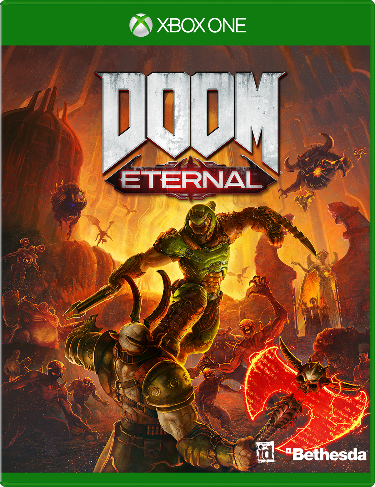 Buy DOOM Eternal for Xbox One - Microsoft Store
