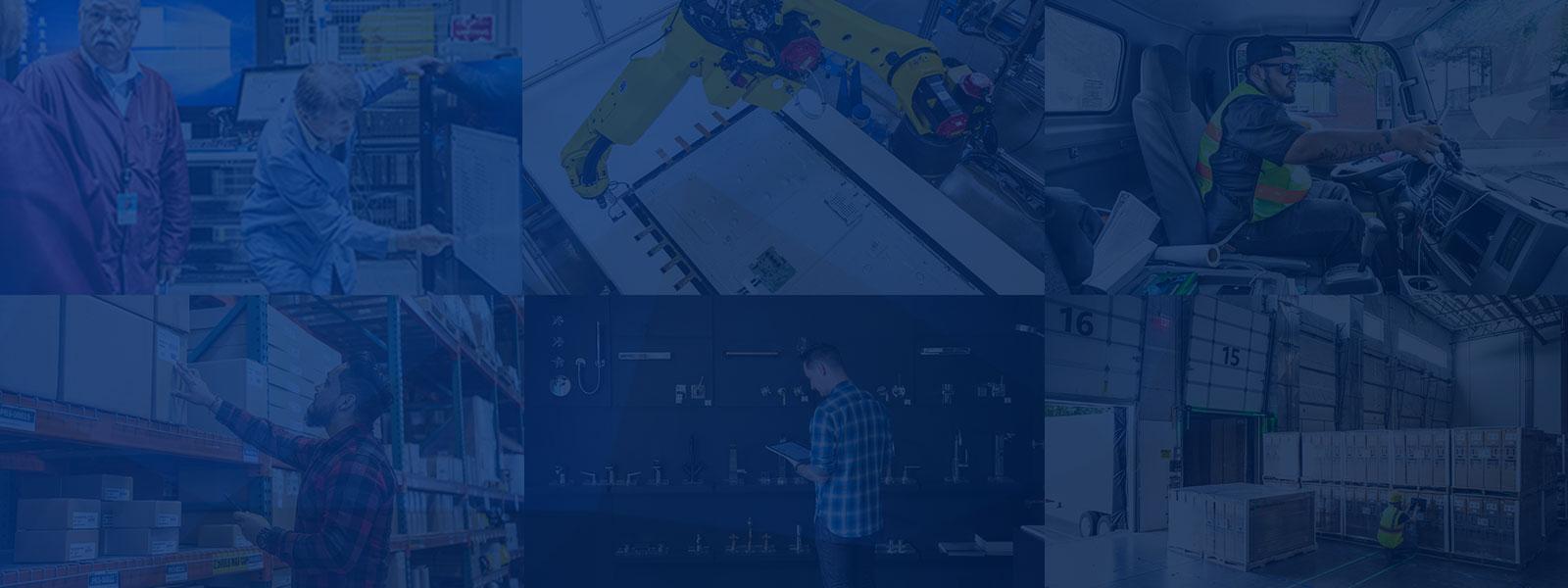 イメージ:ビジネスの成長を加速させる ERP