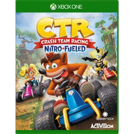 Crash Team Racing: Nitro Fueled for Xbox One game box
