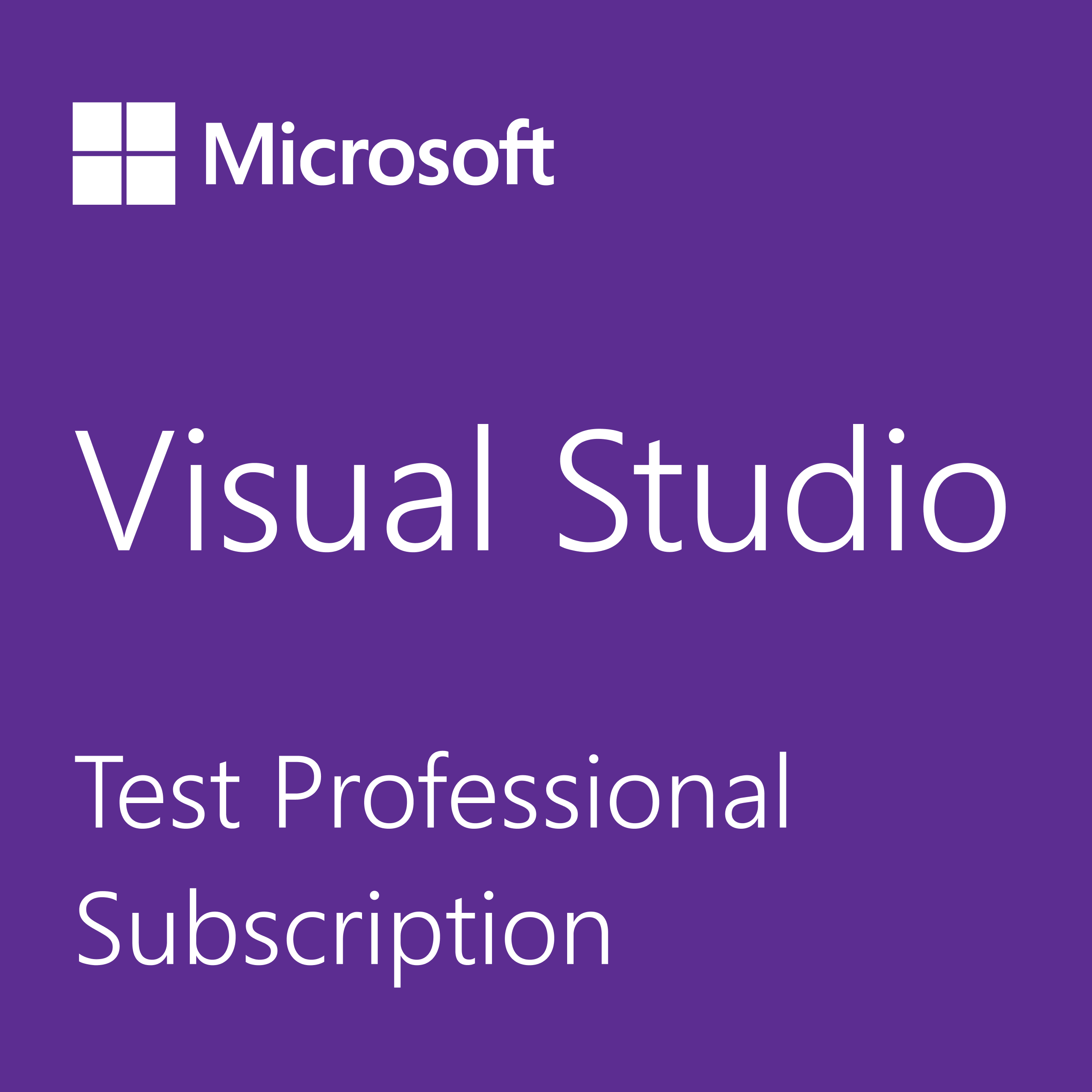 Buy Visual Studio Test Professional Subscription - Microsoft Store