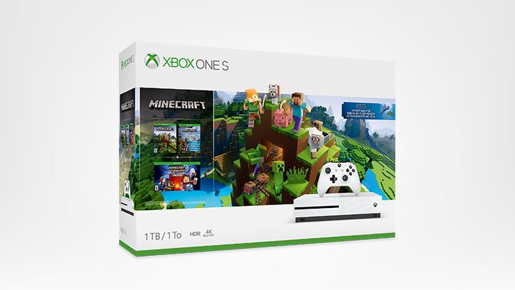 Xbox One S, Minecraft