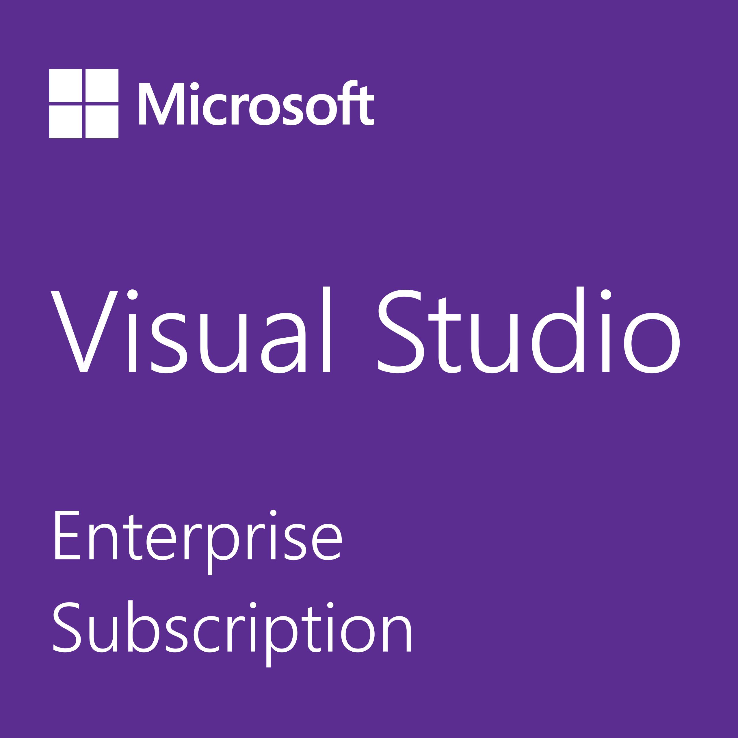 Purchase Microsoft Visual Studio Enterprise Software