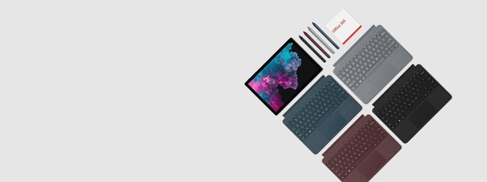 Pack de démarrage Surface Pro 6