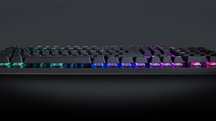 Buy Cooler Master CK550 RGB Gateron Red Mechanical Gaming Keyboard -  Microsoft Store