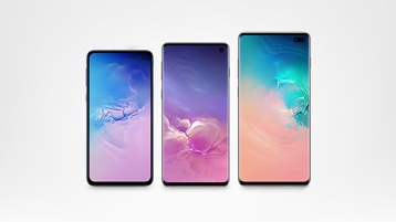 Samsung Galaxy S10e, S10 and S10+