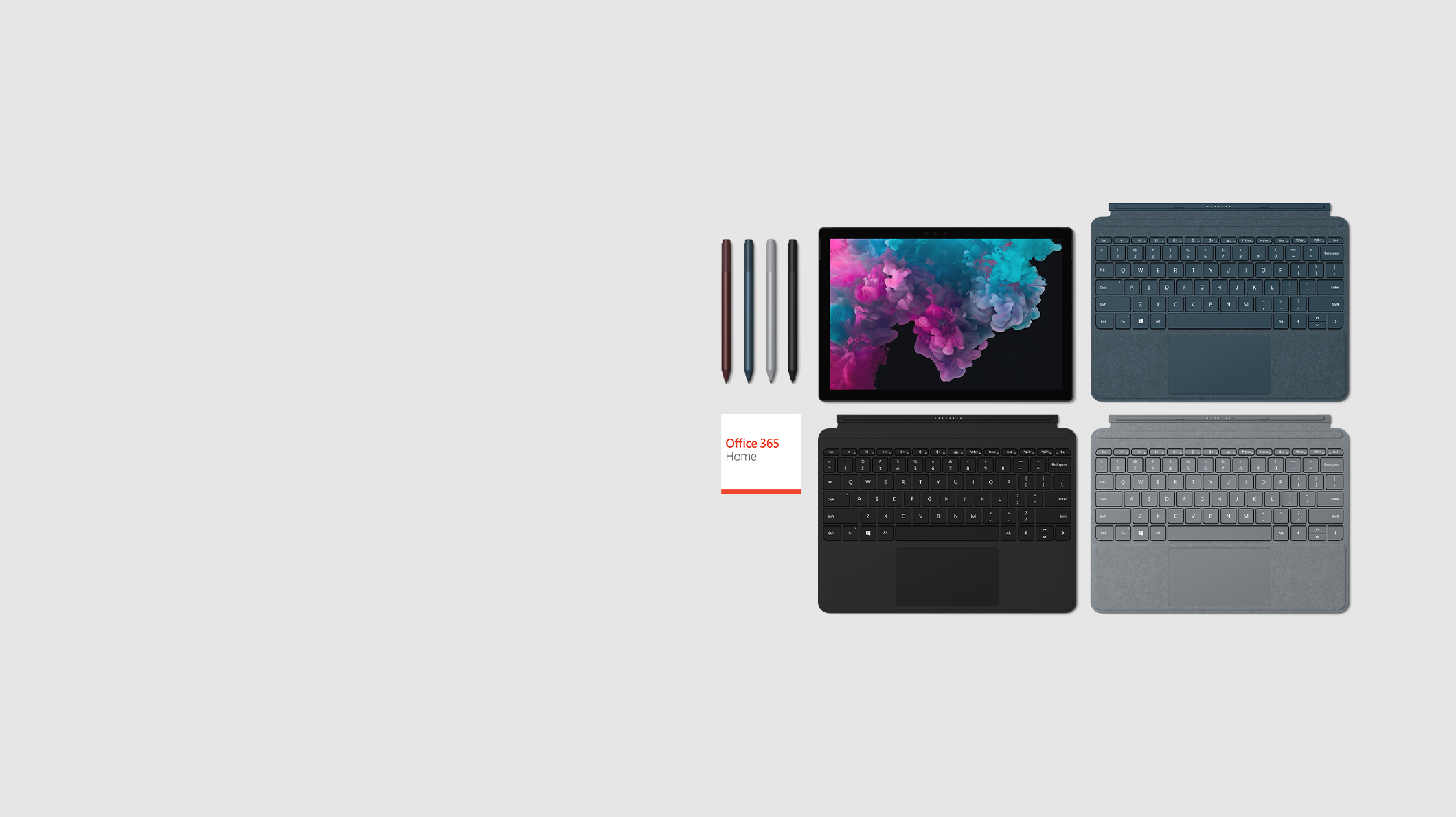 Surface Pro 6 + Funda con teclado + Office 365 + Lápiz para Surface