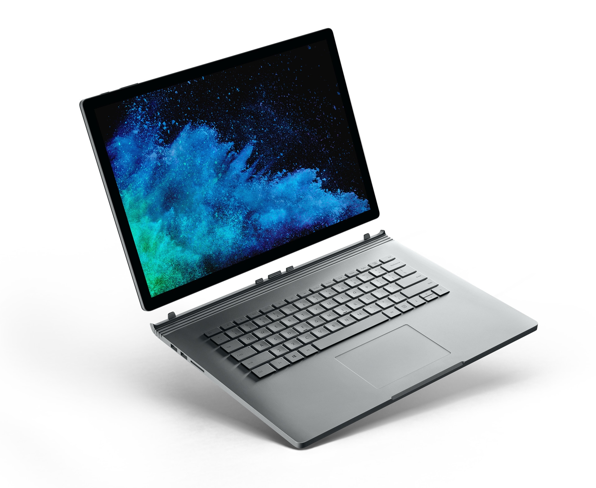 Surface Book 2 con la pantalla extraída